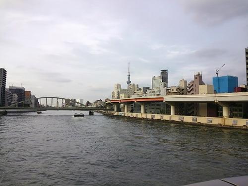 両国橋から