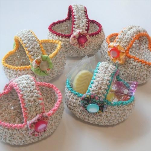 小さい編みかご