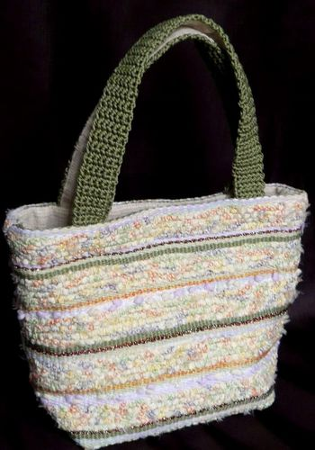 裂き布&絲の織り バッグ