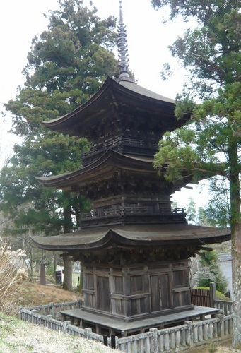 大法寺 三重塔